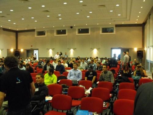 Залата на Seo конференция 2009