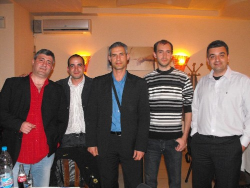 Групата от Seo конференцията