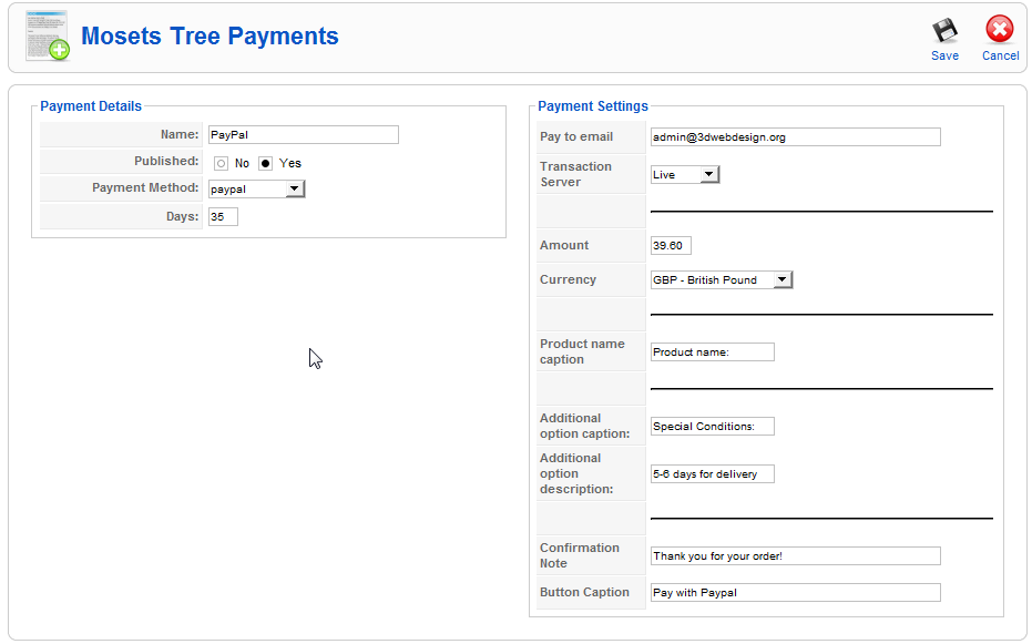 how to use pin to open paypal