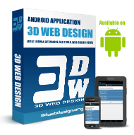 3D Webdesign Android App