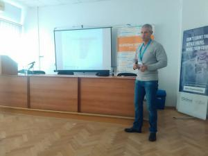 Pictures from Joomla Day Bulgaria 2016 - our presentation