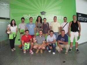 With the best students of Telerik academy SEO Course 2013 - lector Eduard Dimitrov