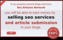 Sell SEO services in your sites!