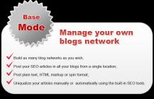 Manage your own blogs network