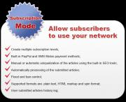 SEO Articles Network Subscription Mode