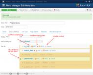 Sorting options in Joomla 3 admin