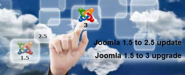 Joomla 1.5 to 2.5 upgrade