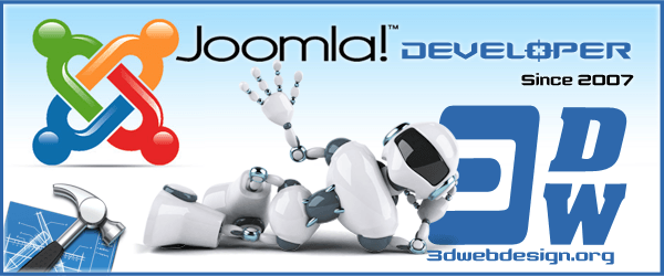 Joomla development from Joomla! developers - 3D Web Design web development of Joomla! extensions