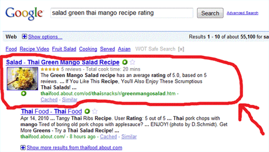 Microformats Seo Plugin For Rich Snippets In Joomla: Web ...