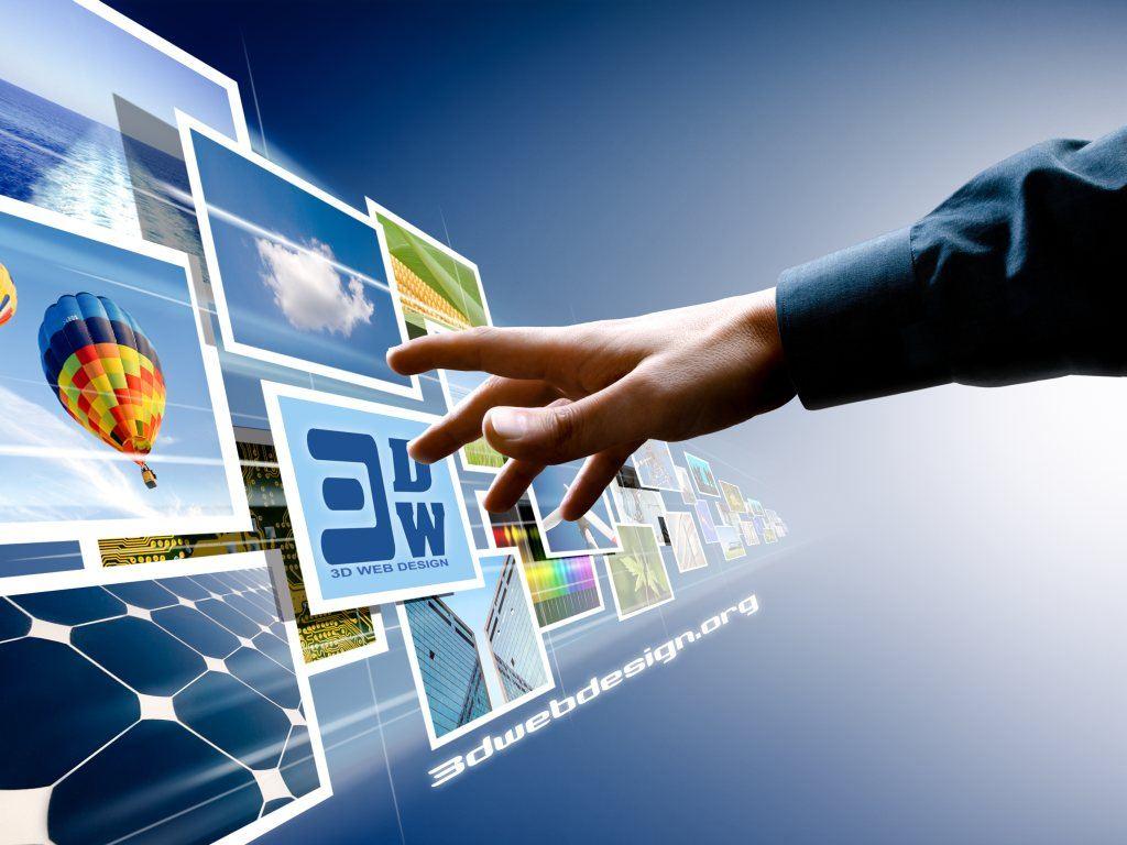 3D Web Design Wallpapers   Дизайн