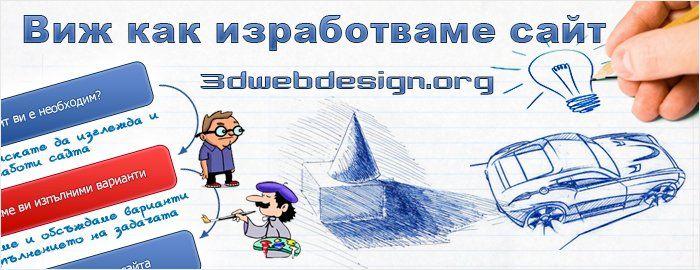 изработка на дизайн за сайт
