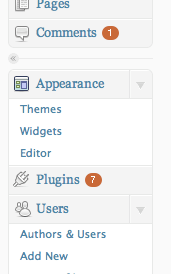работа с wordpress